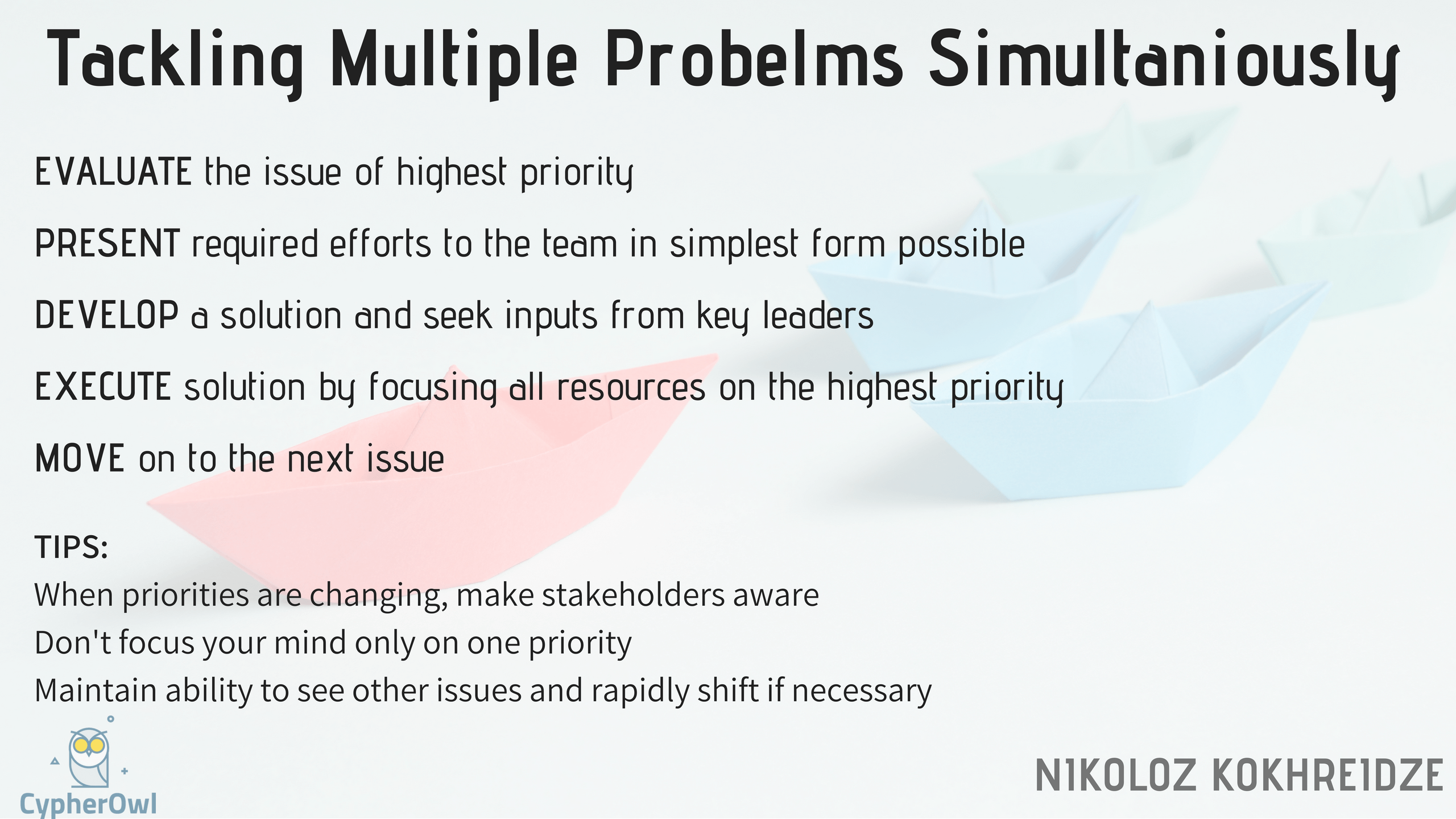 Tackling-Multiple-Problems-Simultaniously